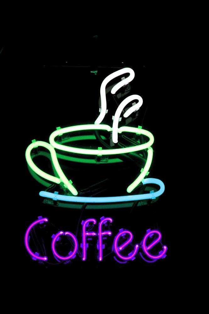 Кофе неон