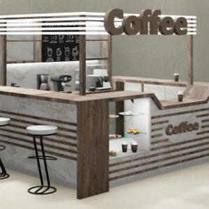 Сколько стоит открыть островок кофе с собой